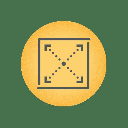 Flexible design icon