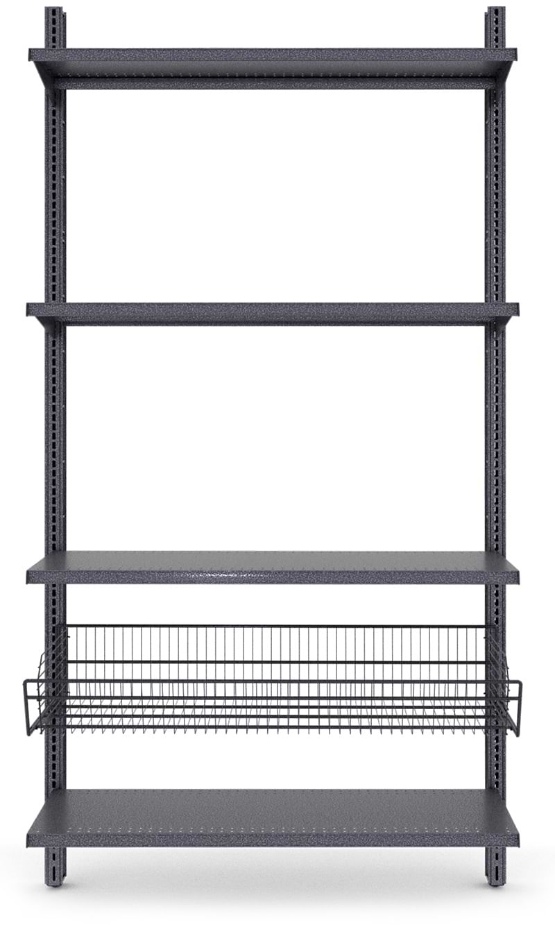 Garage Shelving with upgrades
