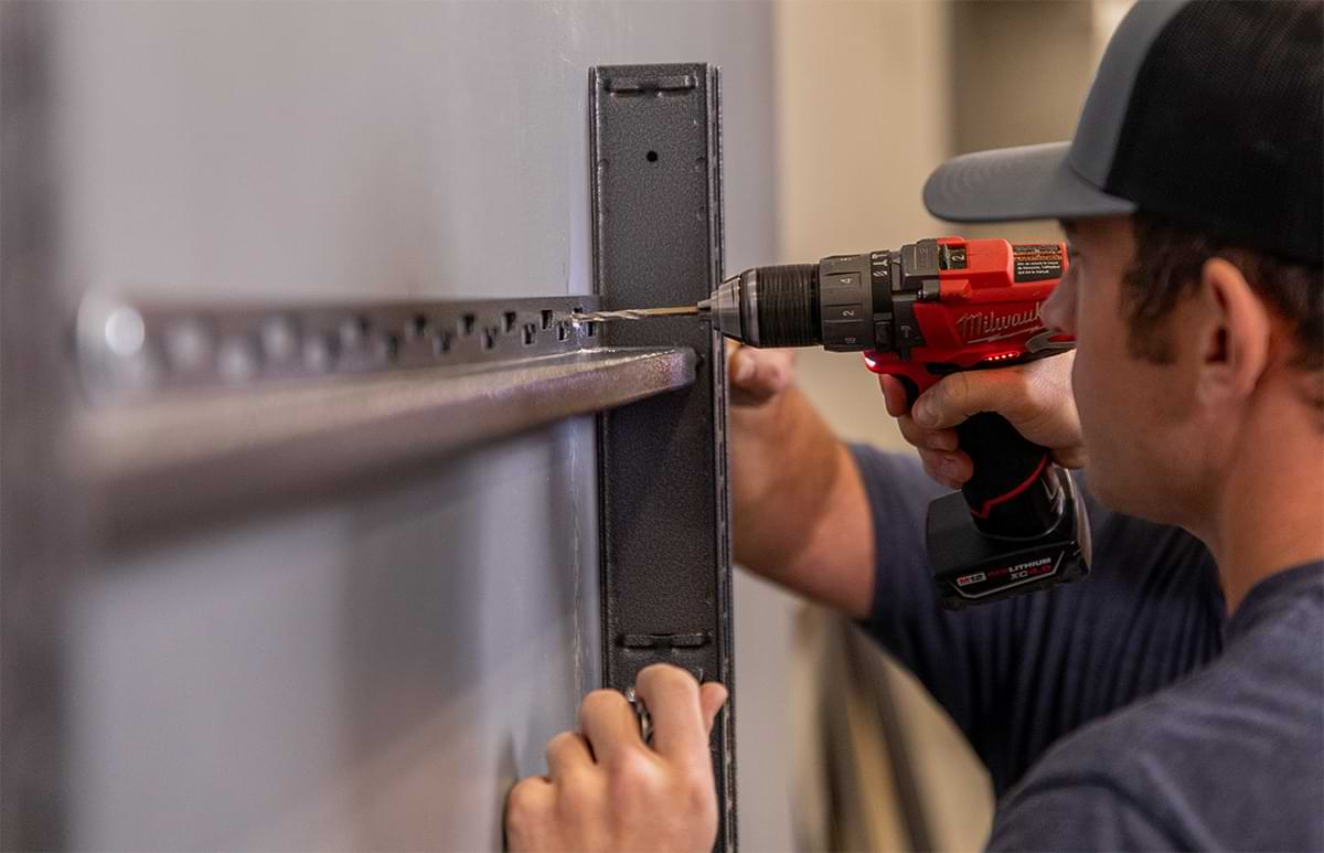 Garage Cabinets installation process