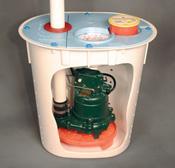 Crawl Space Sump Pump System