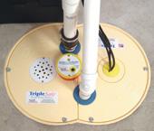 airtight sump pump lid installed in Minerva