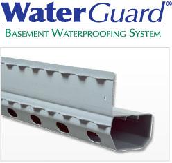 WaterGuard® Basement Waterproofing System