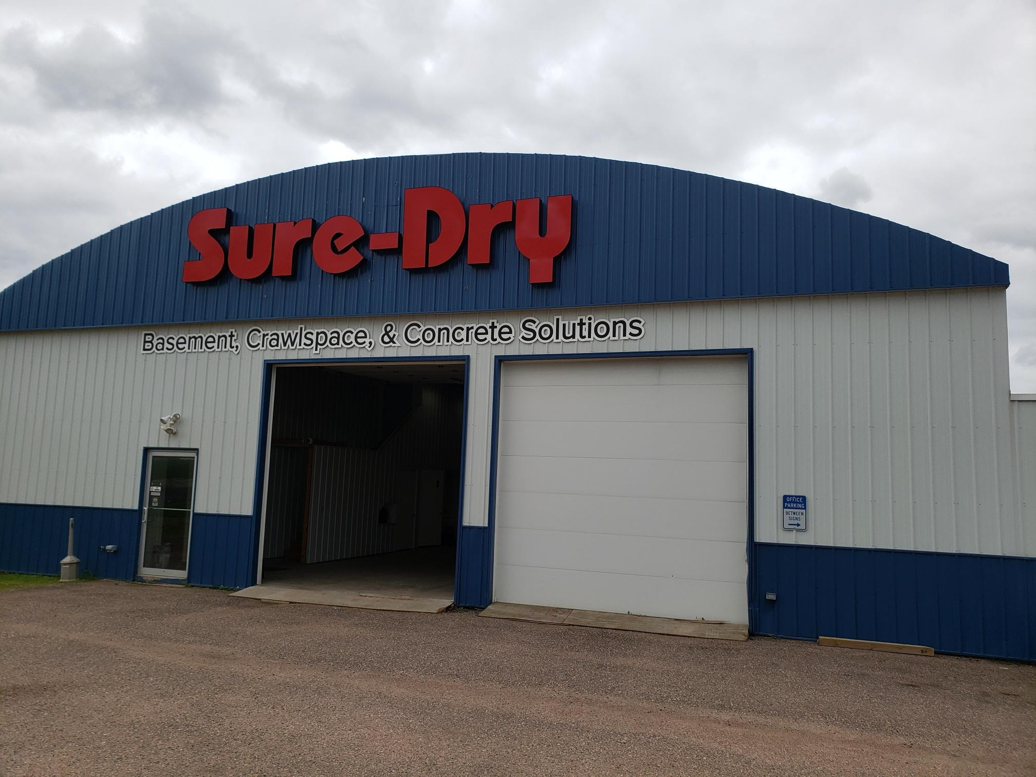 Sure-Dry Basement Systems Wausau Building