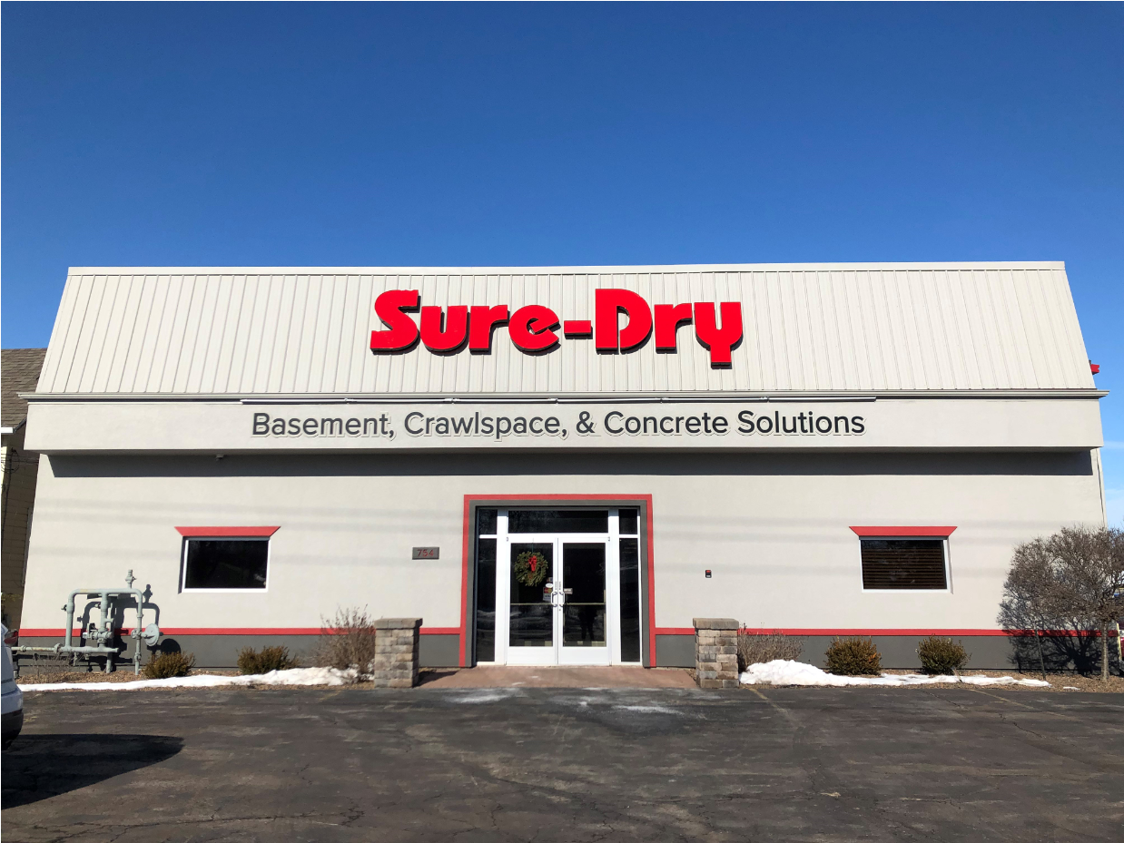Sure-Dry Basement Systems new building
