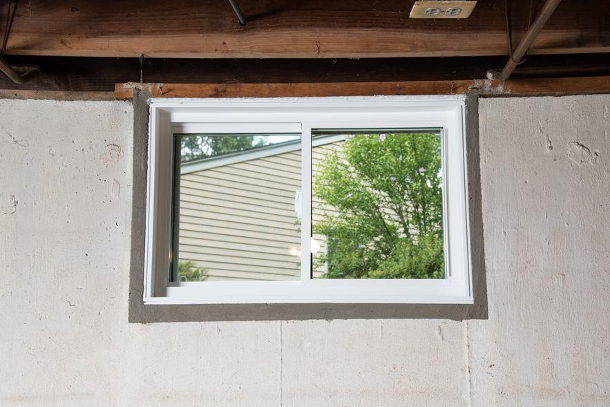 Installed Basement Window
