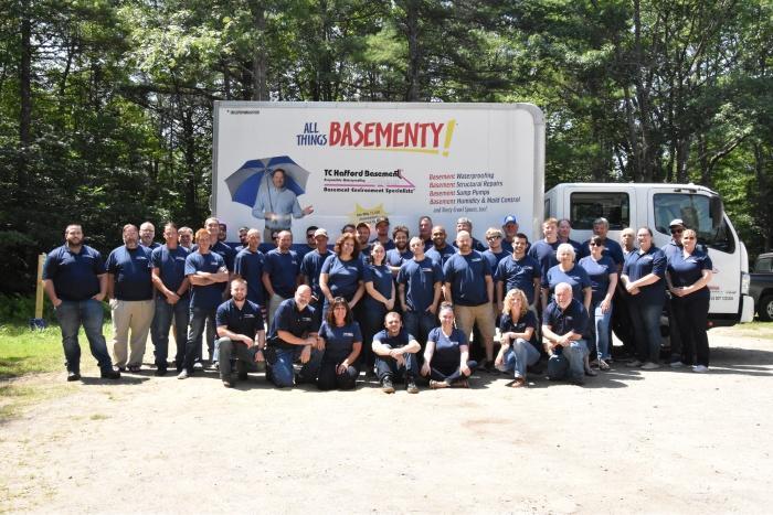 TC Hafford Basement Systems team