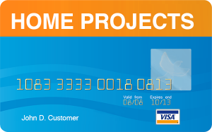 home projects visa card