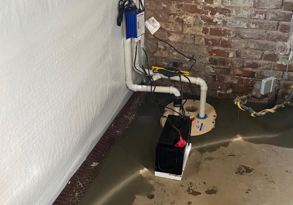Perimeter Drainage System Sump Pump Install