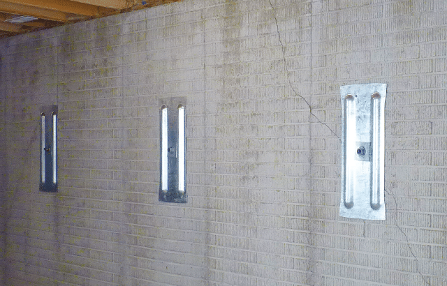 How to install Geo-Lock(TM) Channel Anchors for Stabilizing Tilting & Bowing Walls