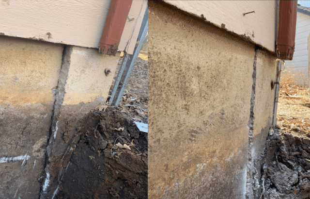 Excavate and Straighten a Basement Wall In Order to Preserve Its Structural Integrity