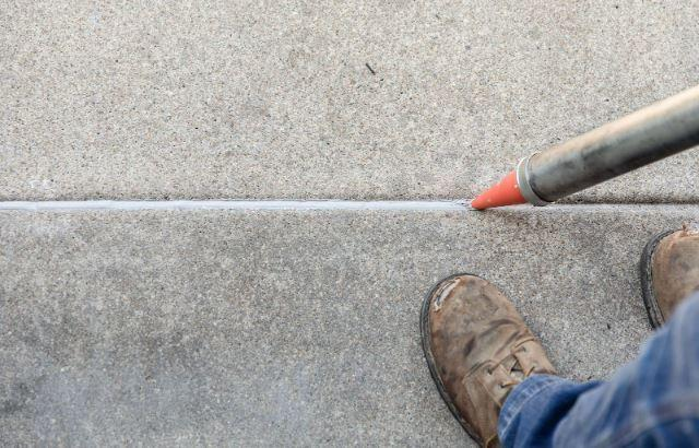 Concrete Driveway Joint Sealant Adds Protection Against Future Damage