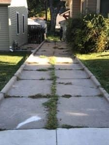 Long Narrow Driveway Repaired with PolyLevel
