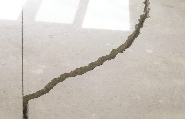 How to Repair a Cracked, Sinking Concrete Floor