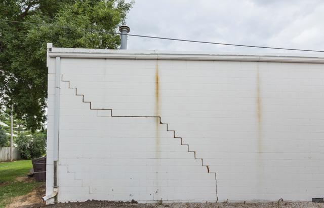 Sunken foundation repair