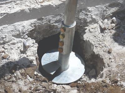 Helical Pile Foundation Repair