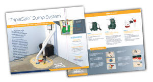 TripleSafe Sump Pump - The World's Most Reliable Pumping System