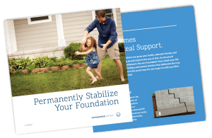 Foundation Push Piers - Stabilize Your Settling Foundation