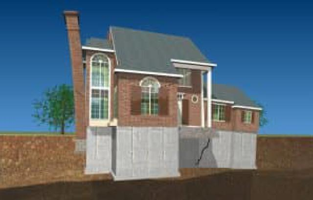 How to Identify and Solve Problems Related to Foundation Sinking and Settlement