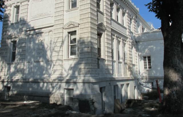 Foundation Piering Stabilized the Historic Public Library in Sedalia, MO