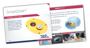 SmartDrain - Plumbing Leak System to Protect Your Crawl Space