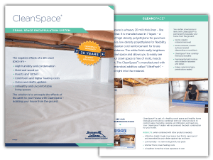 CleanSpace Crawl Space Encapsulation System