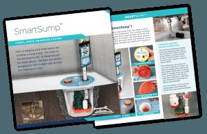 SmartSump Crawl Space Sump Pump - Crawl Space Drainage System