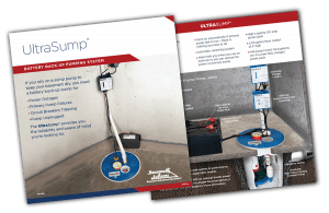 UltraSump Sump Pump - The Peace of Mind You're Looking For