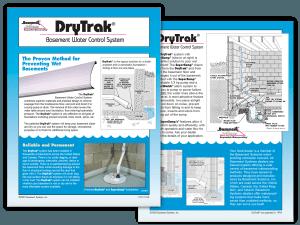 DryTrak Basement Water Control System