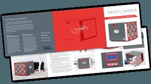SaniDry Sedona Basement Dehumidifier