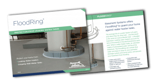 FloodRing Water Tank Leak Protection System