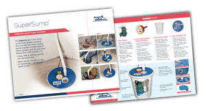 SuperSump Sump Pump System - Clean, Neat, Reliable