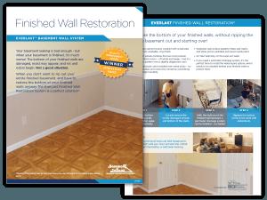 Everlast Basement Wall Restoration System