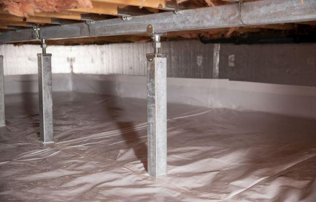 The Smart Jack Crawl Space Support System