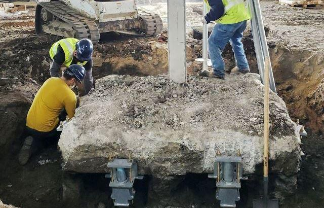 Mixed Used Building Retrofit in Urbandale, IA is the Perfect Fit for Helical Piers
