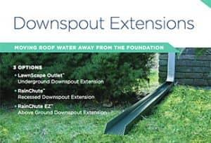 Downspout Extensions - Keep Water Away From The Foundation