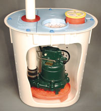 Crawl Space Sump Pump System Silverdale, Washington