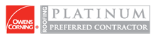 Owens Corning Platinum Preferred Contractor