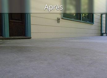 Levage de béton résidentiel à Montréal