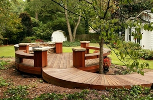 Tigerwood decking