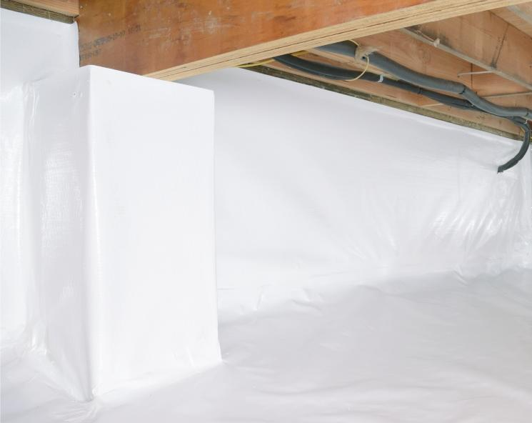 Crawl space insulation removal and crawl space encapsulation services