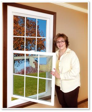 Swing-open window from Energy Swing Windows