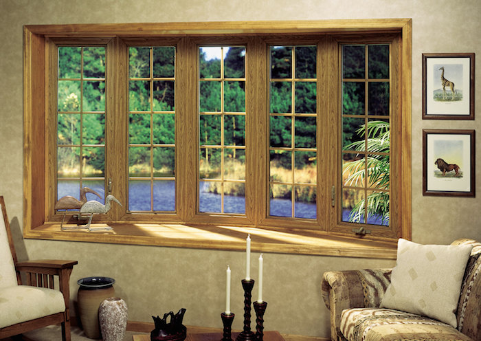Wood replacement window