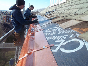 Newton, MA's experts for gutter installation