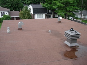 Residential and commercial flat roofs