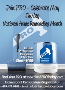 Celebrate Remodeler's Month and Hire a PRO for Your Home Remodel
