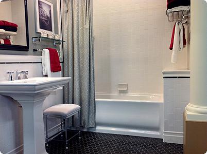 Completely Remodeled Bath & Shower