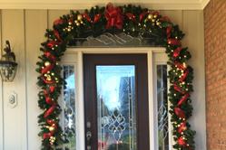 Doorway holiday decor