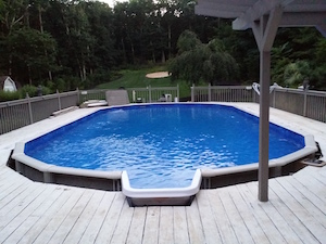 New pool in Wall Township
