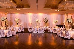 Wedding lighting in Brick