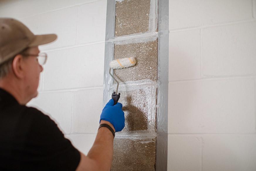 CarbonArmor® Strip preparing to be installed in Saint Paul